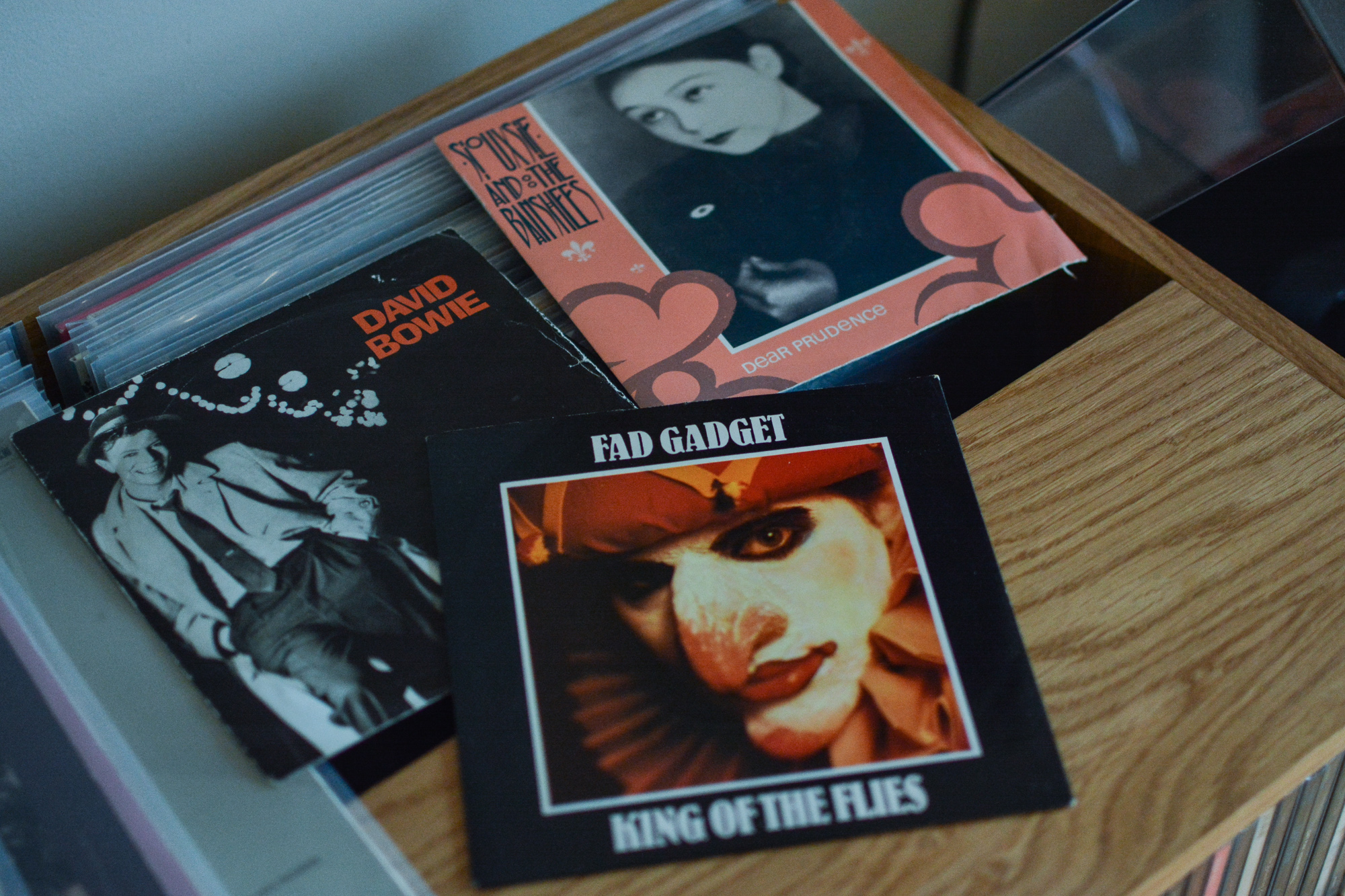 Fad Gadget, David Bowie, Siouxsie and the Banshees